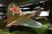 Leitwerk der Ilyushin Il-2m3 'Sturmovik'