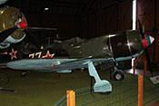 Lawotschkin La-7 (Seriennummer 45210860), erfolgreiches sowjetisches Jagdflugzeug von 1944