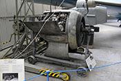 Front einer Focke-Wulf Fw 190 A mit Doppelstern-Flugmotor BMW 801