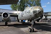 Zweistrahliger sowjetischer Bomber Iljuschin Il-28 von 1949