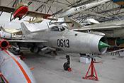 Abfangjäger Mikojan-Gurewitsch MIG-21F 'Fishbed' von 1967