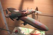 Altes Flugzeugmodell aus Blech