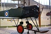 AVRO 504 K, ein Aufklärungs-, Schulungflugzeug und leichter Bomber der RAF von 1914