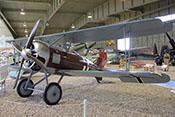 Jagdflugzeug Siemens-Schuckert D III mit Vierblattpropeller und 160 PS starkem Siemens-Halske-Motor