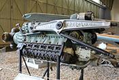 Junkers Jumo 213 AG-1, 12-Zylinder-Flugmotor einer abgestürzten Focke Wulf Fw 190/D-9 der 11. Staffel /Jagdgeschwader 301 'Wilde Sau'