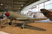 Schul- und Übungsjagdflugzeug Jakowlew Jak-11 (NATO-Code: Moose)