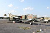 """Mehrzweckjagdflugzeug Mikojan-Gurewitsch MiG-23 MF """"577"""" (NATO-Code: Flogger B) 20+02"""