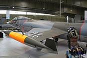 """Lockheed F-104G """"Starfighter"""" 29+06 der Bundeswehr"""