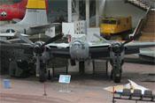 Frontansicht der De Havilland Mosquito Mk 30
