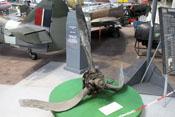 Propeller einer abgestürzten Hawker Hurricane