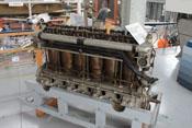 6-Zylinder-Motor Maybach MB IVa des Zeppelins LZ 62