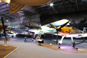Deutsche Flugzeuge in der Battle of Britain Hall