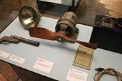 Propellergenerator der Firma Telefunken aus dem Jahr 1916 für die Funkanlage von Flugzeugen