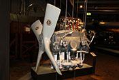 Ausstellungsmodell des 4-Zylinder-Flugmotors Zündapp Z9-092 mit 50PS von 1939