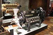 12-Zylinder-Flugmotor Daimler-Benz DB 605 D von 1944