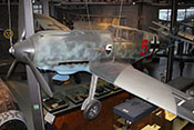 Jagdflugzeug Messerschmitt Bf 109 E-4 WNr 1407 von 1939