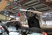Verkehrsflugzeug Junkers Ju 52