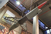 Deutsche Boden-Luft-Rakete Henschel Hs 117 'Schmetterling' von 1944