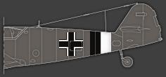 Rumpfband des Jagdgeschwaders 26 ab Dezember 1944