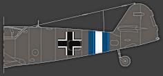 Rumpfband des Jagdgeschwaders 300 ab Dezember 1944