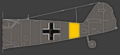 Rumpfband für an der Ostfront operierende Verbände - Variante 1 (hinten)