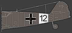 Rumpfband einer Jagdfliegerschule