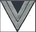 Ärmelabzeichen: Obergefreiter