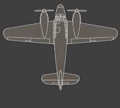 zweimotorig - Siebel Fh 104